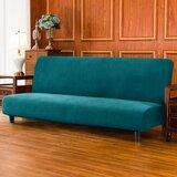 Housse pour futon à coussins carrés / rectangulaires extensible