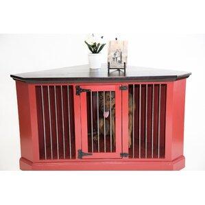 Cozy K 9 Medium Corner Credenza Pet Crate