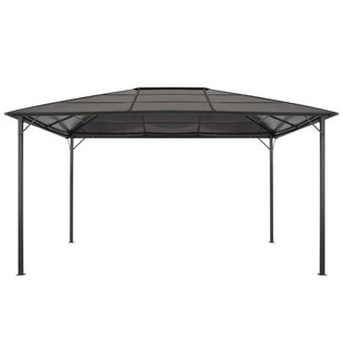 Forsyth 4m X 3m Steel And Aluminium Patio Gazebo By Sol 72 Outdoor