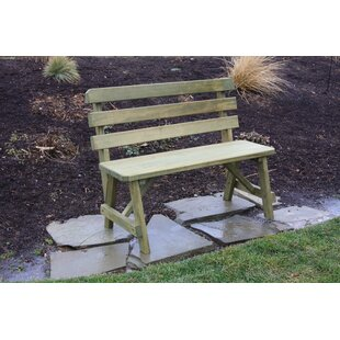 August Grove Hurtt Traditional Garden Bench