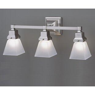 Reviews Schaefferstown 3-Light Vanity Light By Alcott Hill