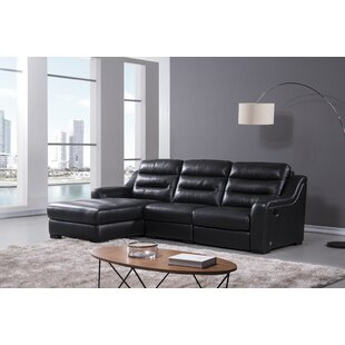 Orren Ellis Xochitl Reclining Sectional