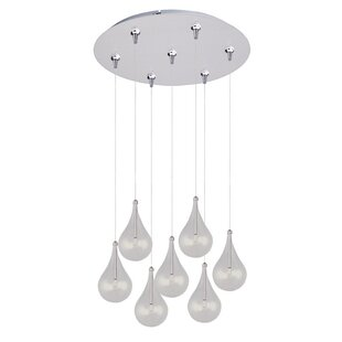 Neal 7-Light RapidJack Pendant and Canopy by Wade Logan
