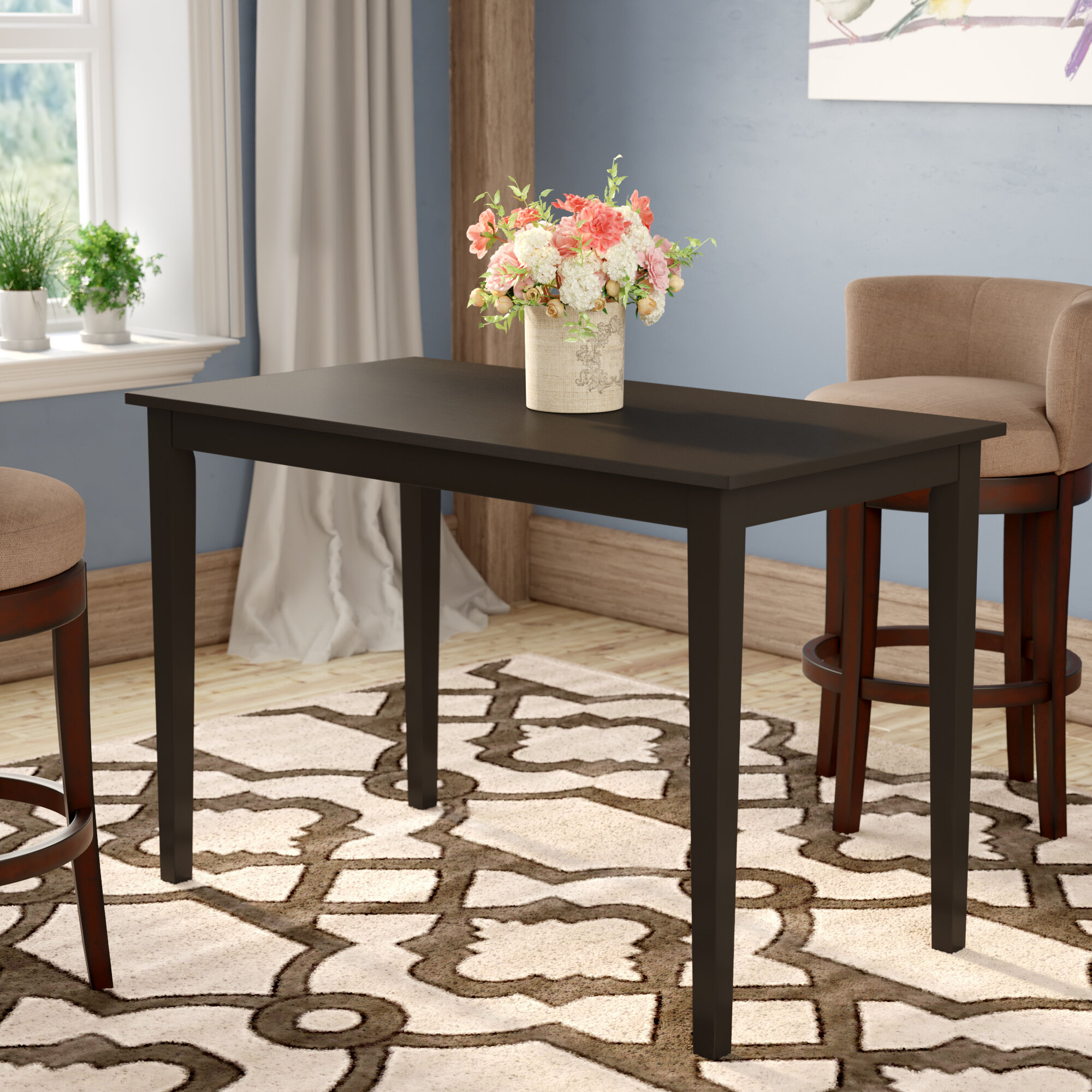 Black & Brown Kitchen & Dining Tables You'll Love in 2021 | Wayfair