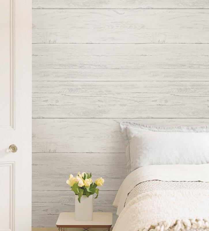 Shiplap   Wood Wallpaper Roll