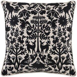 Taza Cotton Throw Pillow