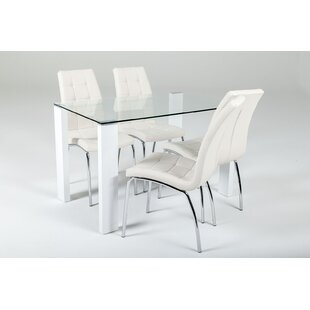 Gorney Dining Set With 4 Chairs By Brayden Studio