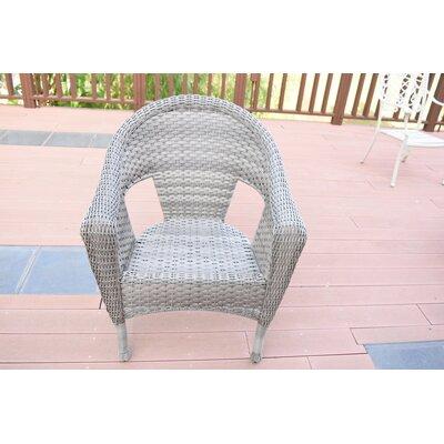 Winterbury Clark Single Patio Chair Bay Isle Home Color: Gray