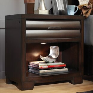 Martinsville Sable 1 Drawer Nightstand by Red Barrel Studio