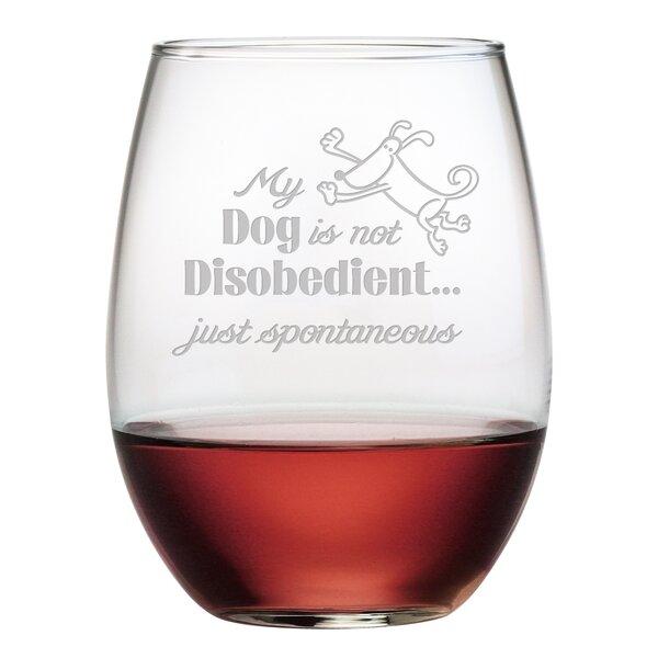 Dog Themed Wine Glasses Wayfair
