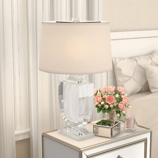Shop For Mcmillin Crystal 26 Table Lamp By House of Hampton