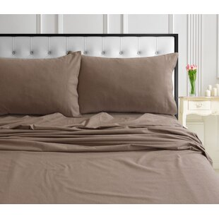 Immanuel Flannel Sheet Set