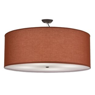 Meyda Tiffany Greenbriar Oak 4-Light Pendant