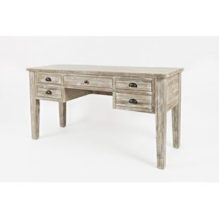 Jalynn Solid Wood Writing Desk by Mistana #2