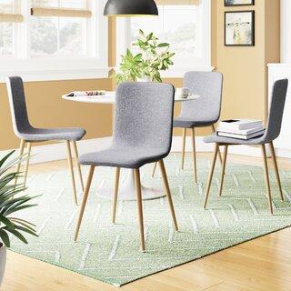 Amir Upholstered Dining Chair (Set of 4) by Corrigan Studio SKU:EC393044 Shop
