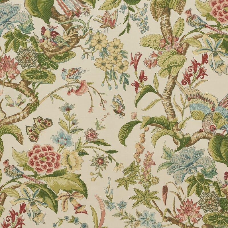 Schumacher Cranley Garden Fabric Wayfair