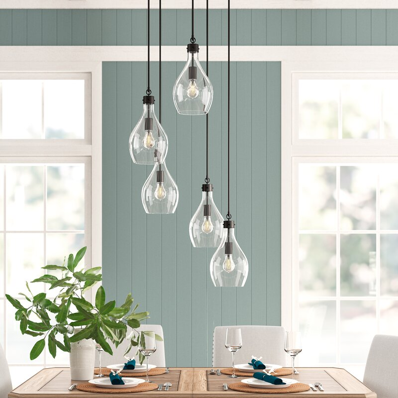 Ronan 5-Light Cluster Pendant