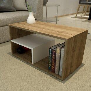 Germain Modern Coffee Table by Ebern Desi..