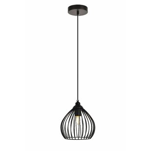 Wrought Studio Mullin 1-Light Globe Pendant