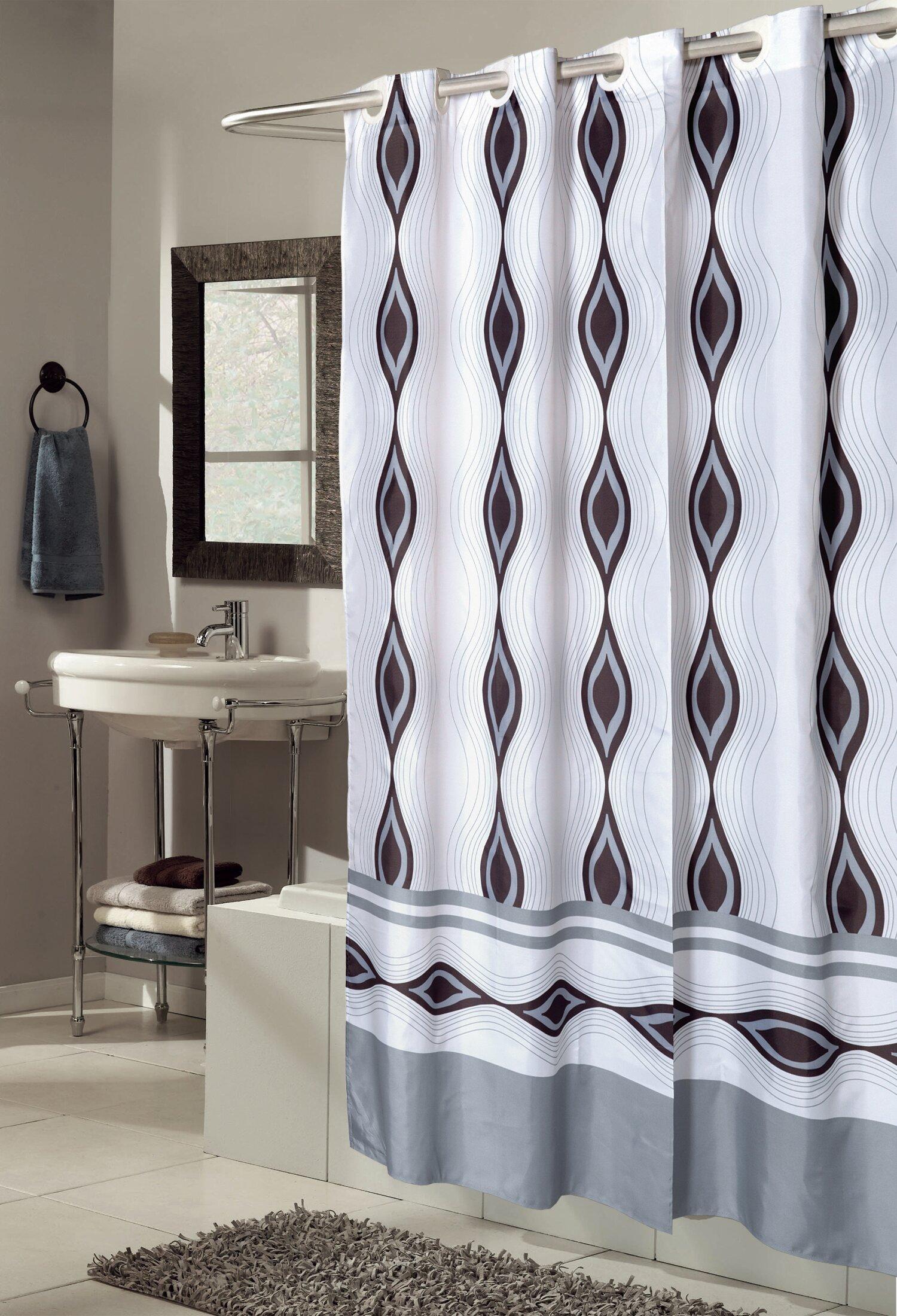 Ben And Jonah EZ ONR Harlequin Shower Curtain