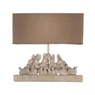 Andraid Bunnies 13 Table Lamp