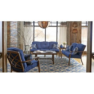 5 Piece Sunbrella Sofa Set with Cushions by Trisha Yearwood Home Collection