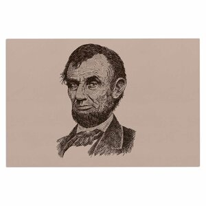 'Abraham Lincoln' Vintage Decorative Doormat