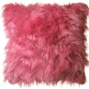 Keller Faux Mongolian Pillow Wayfair