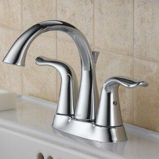 Delta Lahara Centerset Bathroom Faucet with ..
