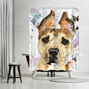 Allison Gray Sadie Shower Curtain