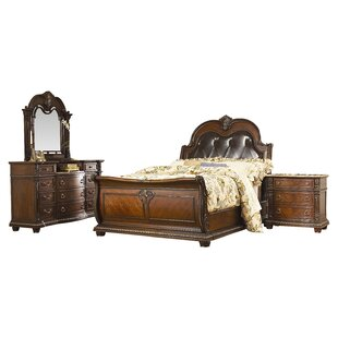 Amalfi Sleigh Configurable Bedroom Set