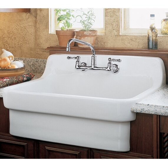 30 L X 22 W Country Kitchen Sink