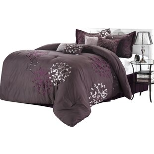 Cheila 8 Piece Comforter Set by Chic Home