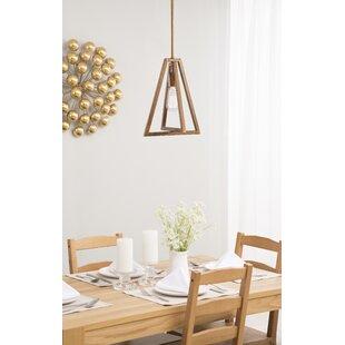 Wrought Studio Arriaga 1-Light Geometric Pendant