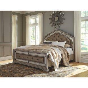 Goldberg Panel Upholstered Bed by Fleur De Lis Living