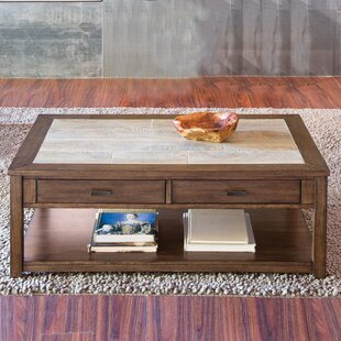 Gauna Wood Coffee Table