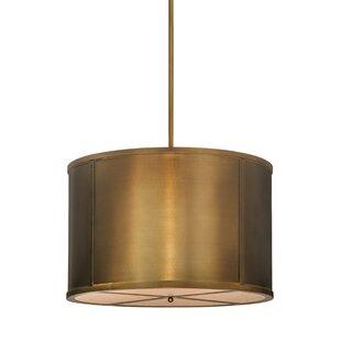 Meyda Tiffany Greenbriar Oak 8-Light Pendant