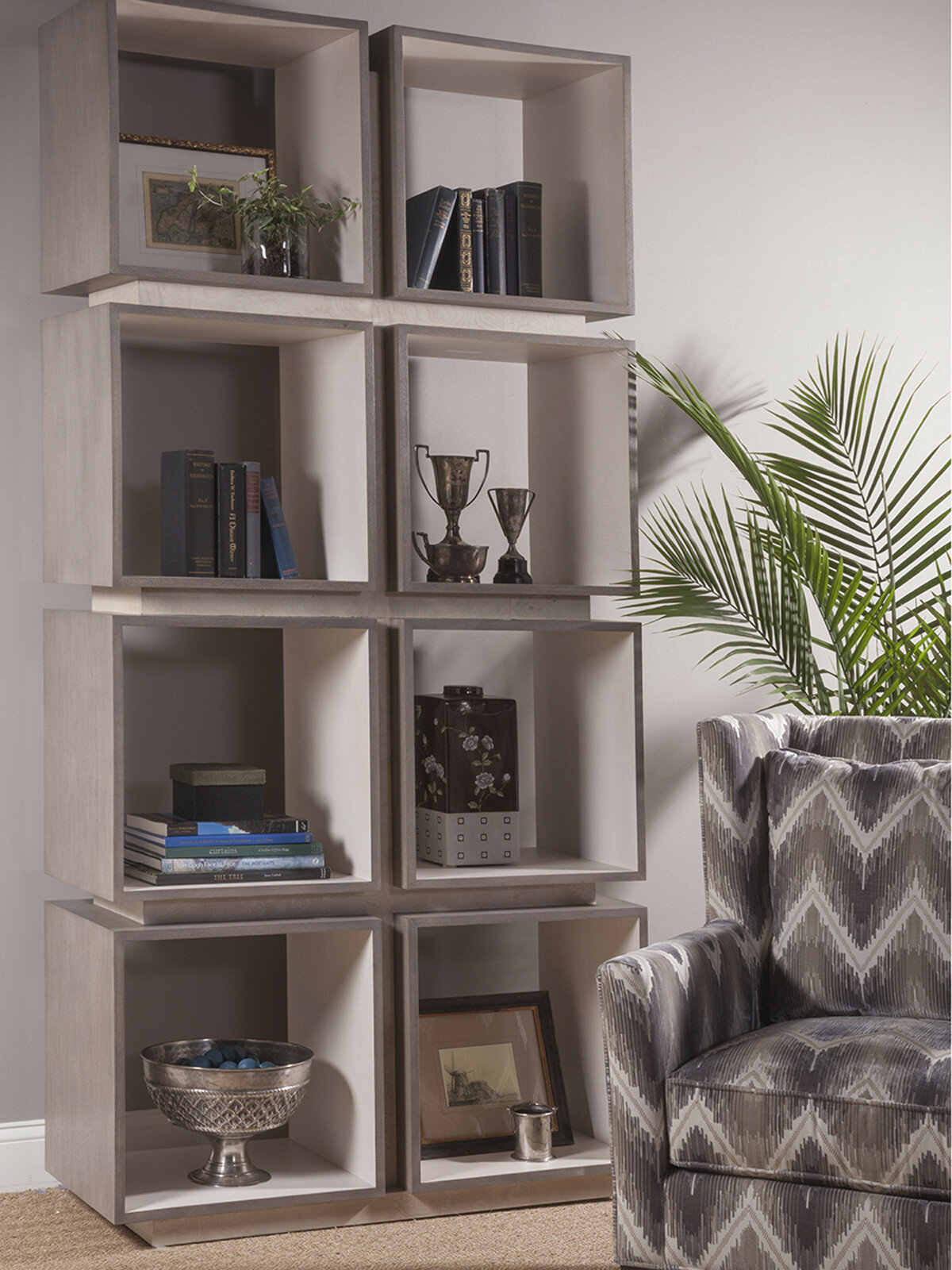 Signature Designs 8 Cube Unit Bookcase By Artistica Home