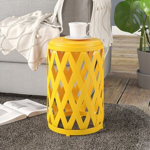 Best Reviews Ramiro Outdoor Iron End Table By Wrought Studio