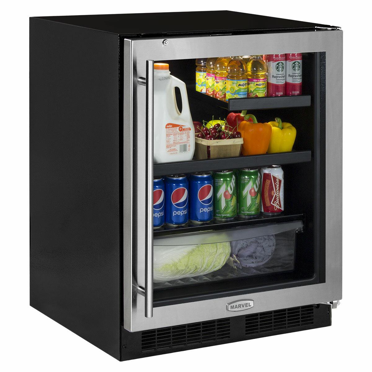 Marvel Low Profile 95 Can 24 Undercounter Beverage Refrigerator Wayfair