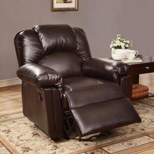 Kozak Manual Glider Recliner Red Barrel Studio