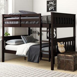 AlmedaCheatham Full Over Full Bunk Bed by Harriet Bee Cheap