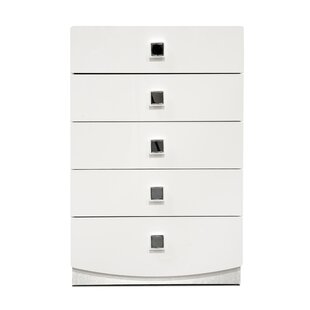 Best Reviews Rachna 5 Drawer Chest by Orren Ellis