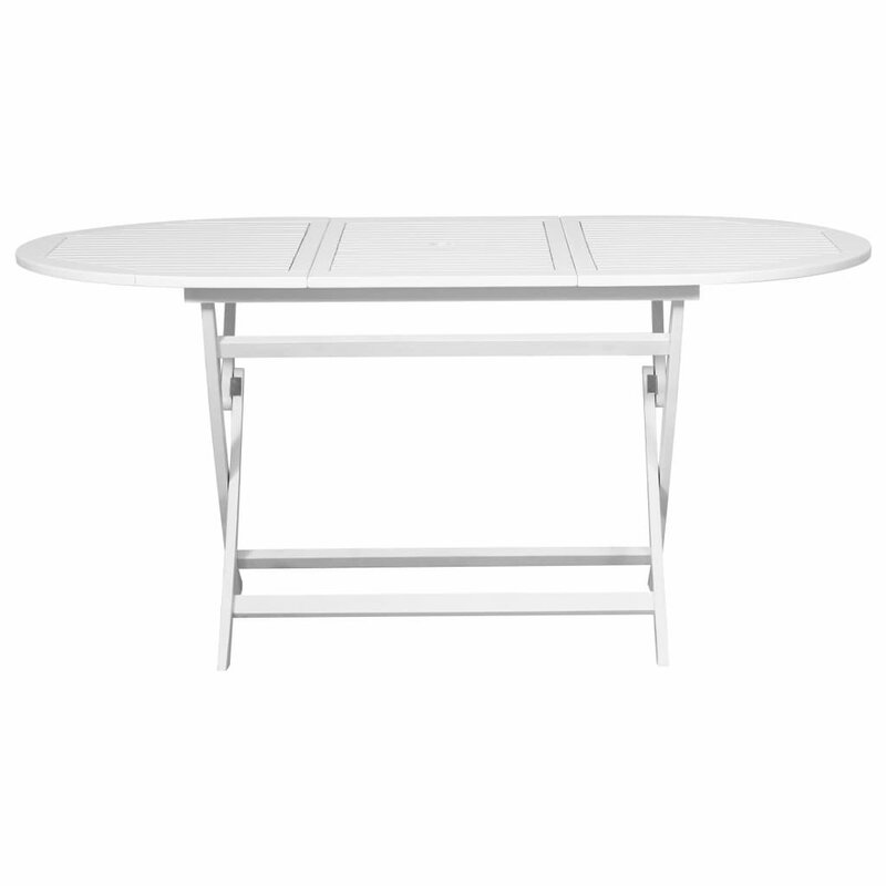 Awad Folding Wooden Dining Table