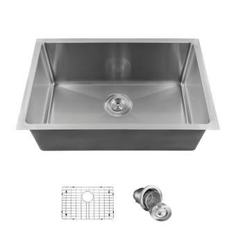 Phoenix Arlo Stainless Steel 26 L X 18 W Undermount Kitchen Sink
