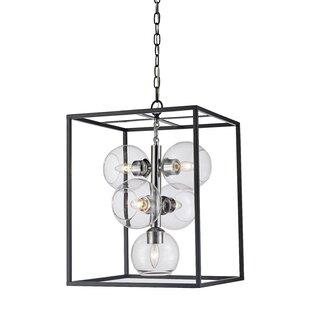 Ivy Bronx Tinley 5-Light Lantern Pendant
