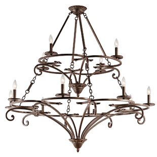 Astoria Grand Alperton 12-Light Chandelier