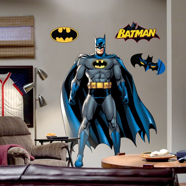 Fathead Super Heroes Batman Wall Decal Amp Reviews Wayfair