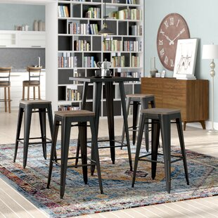 Racheal Loft 5 Piece Pub Table Set Sale