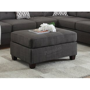 Latitude Run Maki Tufted Cocktail Ottoman